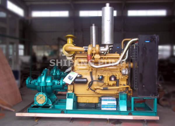 XBC-S Type Diesel Engine Double Suction Pump