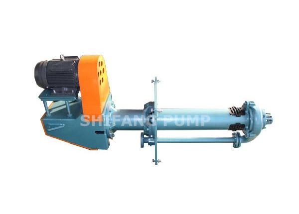 SP-SF、SPR-SF Types Vertical Semi-immersed Slurry Pump
