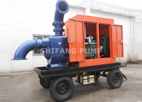 ZW Diesel-type Self-priming Sewage Pump